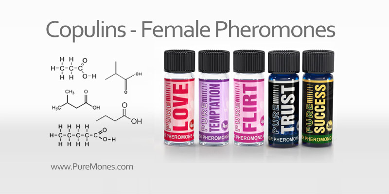 Pheromone Products for Women with Copulins