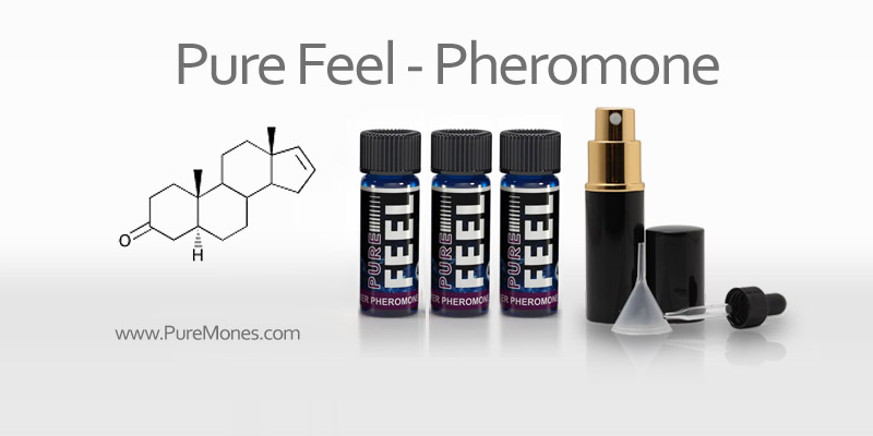 Pheromone Additive for Men - Pure Feel