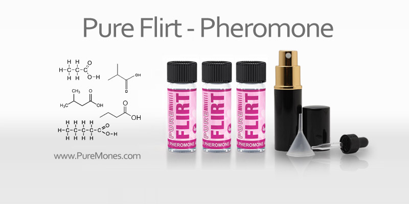 Pure Flirt Pheromone Additive to Attract Men